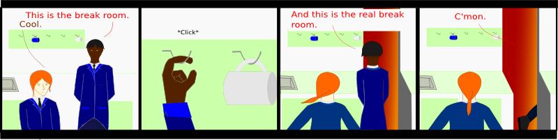 3: The Break Room